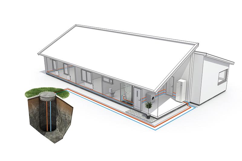 ingenjör ritning vattenledning och rör